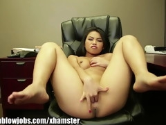 OnlyTeenBJ Cindy Starfall's extreme gagging!