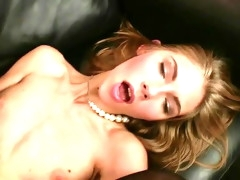 Hot Skinny Russian Girl Couch Anal Fucking...analmente